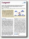 New publication on superhydrophobic surfaces