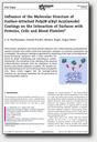 New publication on bioinert hydrogel coatings